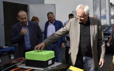 Továrna na unikátní baterie české konstrukce u Havířova spustila výrobu