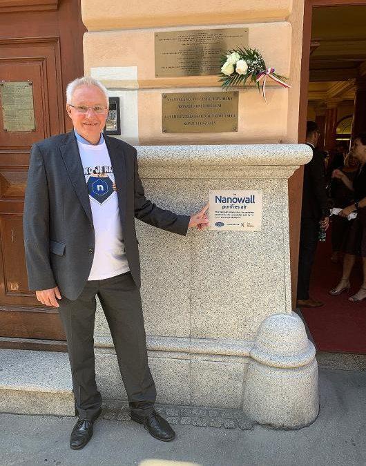 Czech Nanotechnology Eliminates Greenhouse Gas Emissions in Budapest