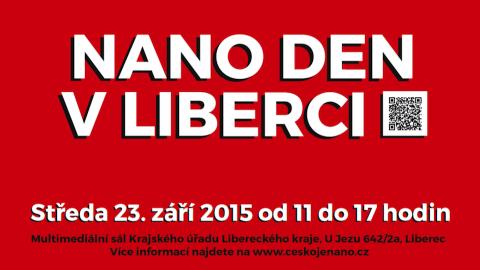 NANO DEN Liberec – zúčastníme se